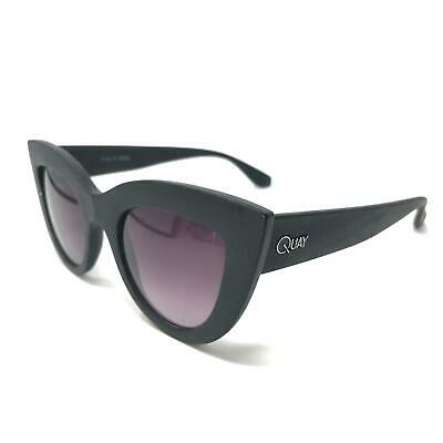 Quay Australia Retro Cat Eye Sunglasses Black Sun Shades Frames Glasses