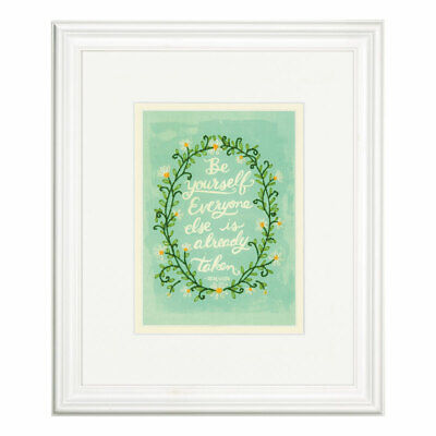 DIMENSIONS |Embroidery Kit: Be Yourself - Oscar Wilde Quote D71-06247