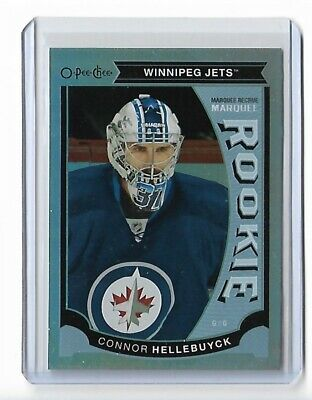 2015-16 O-Pee-Chee Update Rainbow Foil #U47 Connor Hellebuyck Opc Jets