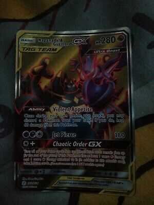 Pokémon Tcg Naganadel And Guzzlord Tag Team Gx