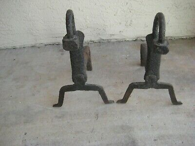 Primitive Hand Forged / Wrought Iron Andrions