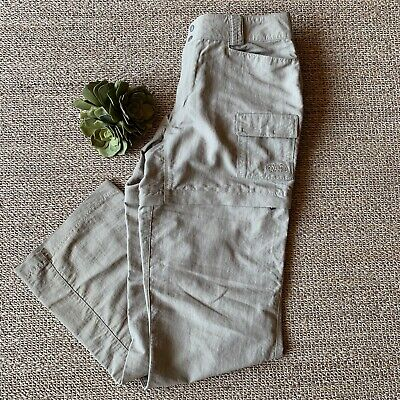 The North Face Women's Size 12 Convertible Hiking Outdoor Cargo Shorts Pants