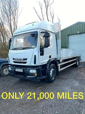 2013 Iveco 180E25S Scaffold Lorry, Only Done 21,000 Miles Daf Flatbed Mercedes