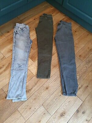 3 pairs of Boys Skinny Jeans. 13-14