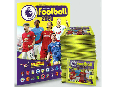 Panini Football 2020 Premier League 19/20 Stickers Sticker Collection 1-212