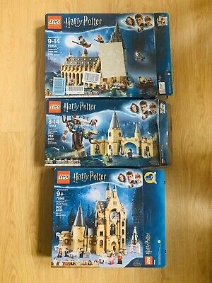 Lego Harry Potter 75948 75954 75953 Hogwarts Clock Hall BOXES ONLY NO PIECES