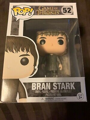 Funko POP Game of Thrones Ed 7 #52 Bran Stark Vinyl Figure