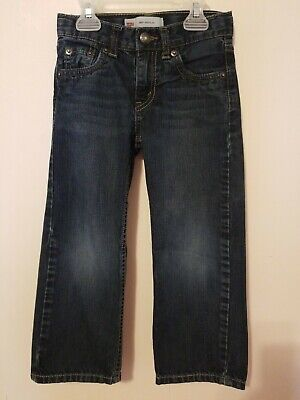 LEVIS 505 Regular Boys Jeans Size 4 3-4  Years