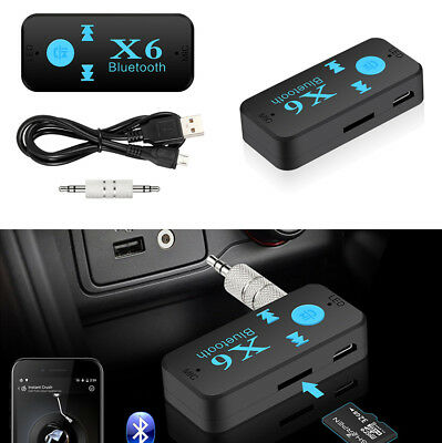 Universal Auto Car 3.5mm AUX Audio Connector Wireless Bluetooth Music Receiver
