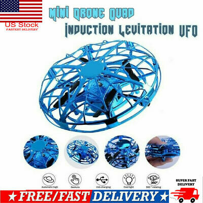 US Anti-Collision Hand UFO Ball Flying Aircraft RC Toy Mini Induction Drone Gift