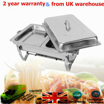 7.5L Stainless Steel Chafing Dish Set Buffet Food Warmer Food Pan Easy To Clean
