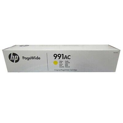 HP 991AC X4D10AC Yellow PageWide Managed P77740 P77750 P77760 P75050 - 02/2020