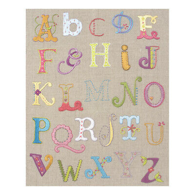 ANCHOR | Embroidery Kit: Alphabet - Classic Sampler | PE702