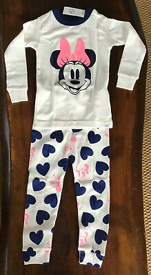Disney Minnie Miuse Pj Set (gap) Age 2