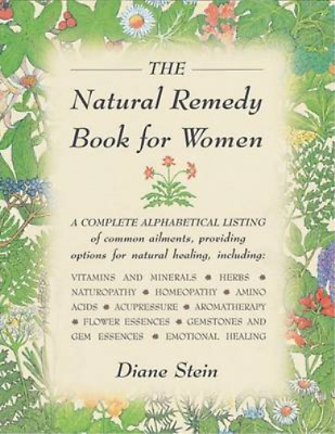 The Natural Remedy Book for Women, Diane Stein, Used; Good Book