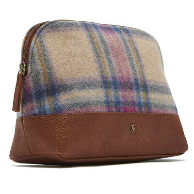 Joules Womens Onboard Tweed Stylish Spacious Travel Bag