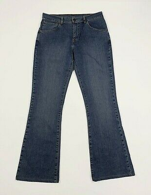 Levis 525 W30 tg 44 jeans donna usato bootcut zampa flare vintage loose T5265