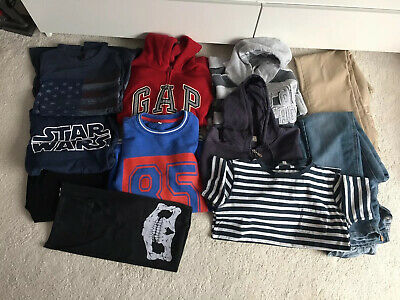 11 Items Boys Bundle Of Clothes Age 12-14 Ted Baker Gap M&S Fat Face Hollister