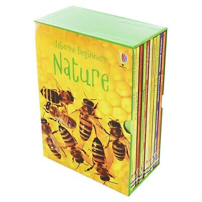 Usborne Beginners Nature 10 Books Children Collection Hardback Box Set Gift Pack