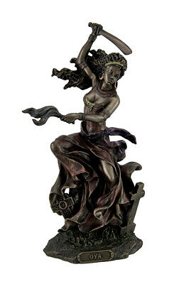 Bronzed Oya Goddess of Wind and Transformation Statue
