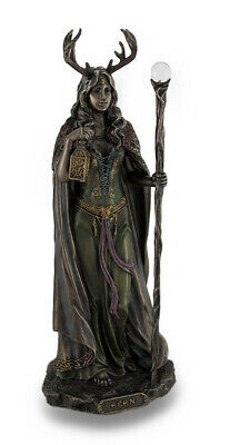 Elen of the Ways Bronze Finish Statue Pagan Goddess