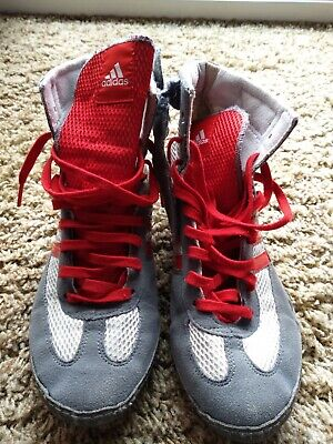 Addidas Youth Wrestling Shoes, Size 5