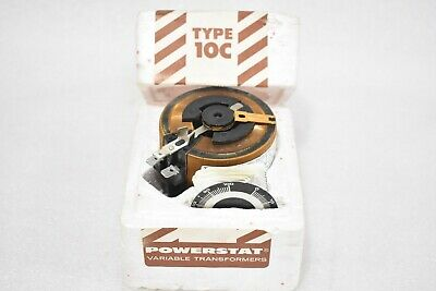 Superior Electric Powerstat Type 10C Variable Transformer