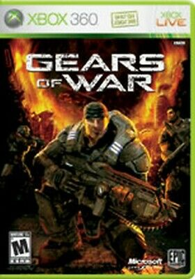 Xbox 360 *Game Only* Gears Of War 1 W/ Free Ship!