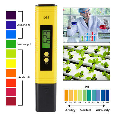 Pocket Digital Electric PH Meter Tester Hydroponics Water Test Pen High Quality