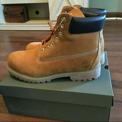 TIMBERLAND 6 INCH PREMIUM Waterproof GS Boots Size 7 Spiced