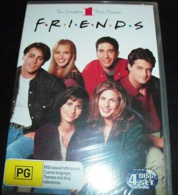 Friends The Complete First Season 1 (Australia Region 4) DVD – New