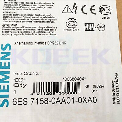 Siemens 1pc new 6ES7158-0AA01-0XA0 fast delivery