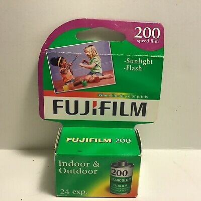 Fujifilm Fujicolor 35mm DX 200 Speed 24 EXP Expired Fuji Film New Color Prints