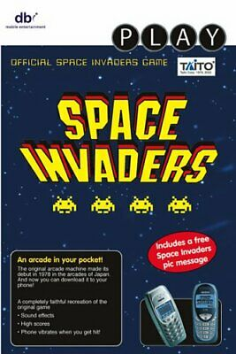 Java Game - Space Invaders (Black & White) -  CD TEVG FREE Shipping