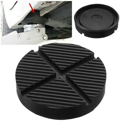 Universal Car Cross Slotted Frame Rail Floor Jack Rubber Pad Adapter For W MHS8