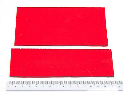 Darkroom enlarger red filter acrylic sheets, cut for use as replacement