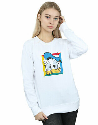 """Femmes Hoodie Pull /""""Mickey vintage Minnie Duck Donald Daisy/"""" Taille XS-XXL"""