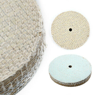 1pc 150x20mm Sisal Cloth Buffing Wheel Polishing Tool Wear-Resistant Replacement