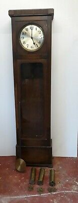grand father clock chiming 3 weight