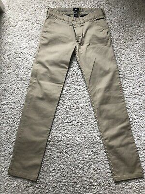 """DC Shoes Cousa Boys Chino Trousers - Worn Once 28"""" Waist"""