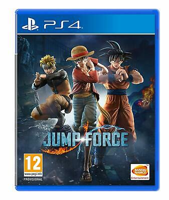 NEW & SEALED! Jump Force Sony Playstation 4 PS4 Game