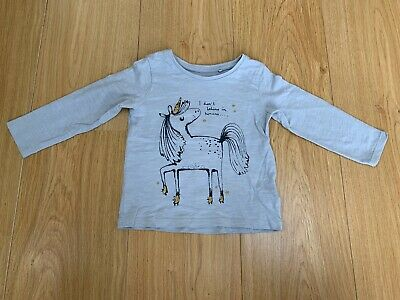 Cute Long-Sleeved Unicorn from NEXT - Age 12-18 Months