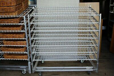 "Win-Holt DRS-3660KD-WM Knock-Down Bread Rack, 34"" x 56"" x 65"""