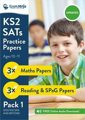KS2 SATs Practice Papers [PACK 1] Year 6 SATs Books Revision | Answers & Audio