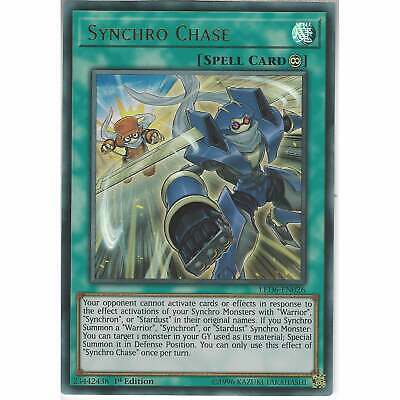 LED6-EN026 Synchro Chase   1st Edition Ultra Rare   YuGiOh Trading Card Game TCG