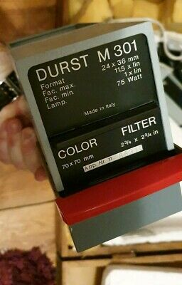 Durst M301 Photography enlarger And Developer Accessories/unused photo paper