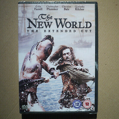 The New World Extended Cut 2005 DVD New & Sealed Terrence Malick Farrell Bale