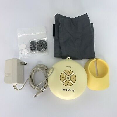 Medela-Swing Single Electric Breast Pump Tube Plug Works Sterile Clean Portable