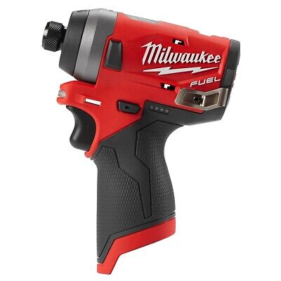 Milwaukee M12 FUEL 1/4 in. Hex Impact Driver (Bare Tool) MLW2553-20 Brand New!