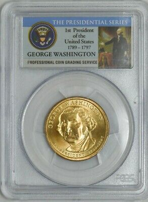 2007-P George Washington $ First Day of Issue Position A MS67 PCGS